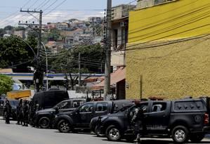 Operação policial no Morro do Fallet deixou 13 mortos Foto: MarceloTheobald / Agência O Globo