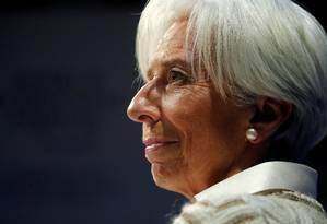 Diretora-gerente do FMI, Christine Lagarde Foto: Arnd Wiegmann / REUTERS