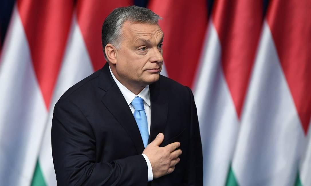 Viktor Orban, primeiro-ministro húngaro Foto: ATTILA KISBENEDEK / AFP