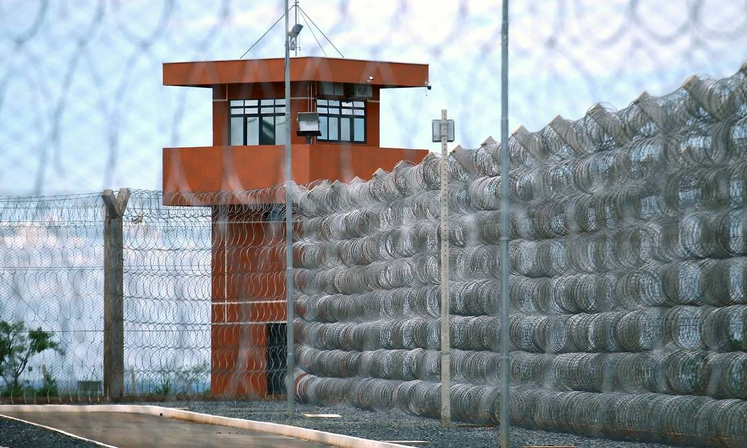 Presídio federal de Brasília, um dos cinco do país sob administração da União Foto: Jorge William / Agência O Globo