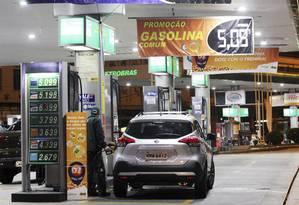 Previsibilidade. Proposta da Petrobras é parecida com a de um cartão para viagens Foto: Paulo Nicolella/05-06-2018