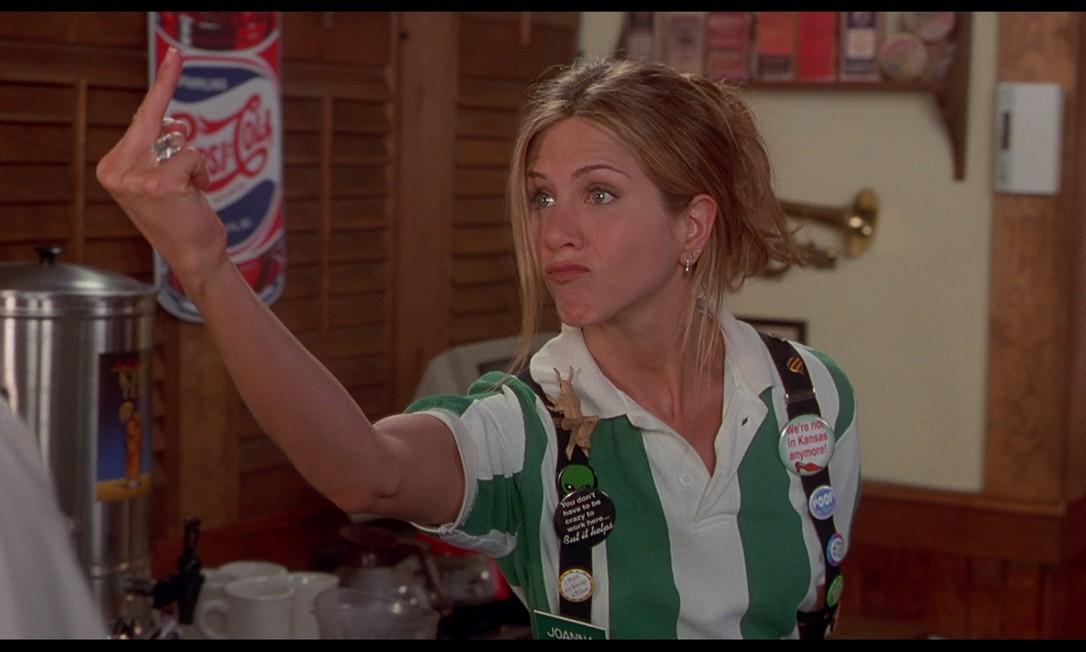 Em 1999, a atriz atuou em 'Como enlouquecer seu chefe', de Mike Judge Divulgação