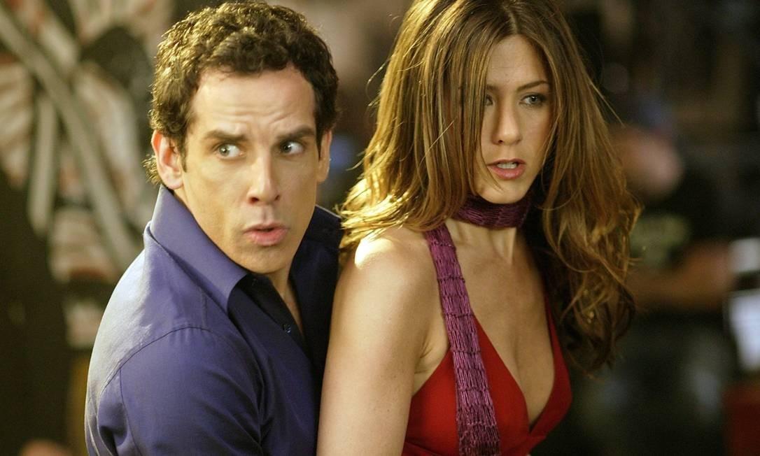 Em 'Quero ficar com Polly' (2004), a atriz vive uma mulher intempestiva que bagunça a vida de um pacato corretor de seguros interpretado por Ben Stiller, que recupera a fé no amor após ser traído em plena lua de mel Divulgação