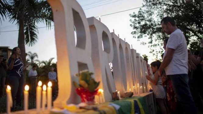 Em Brumadinho (MG), 165 mortos já foram encontrados pelas equipes de resgate Foto: Mauro Pimentel / AFP
