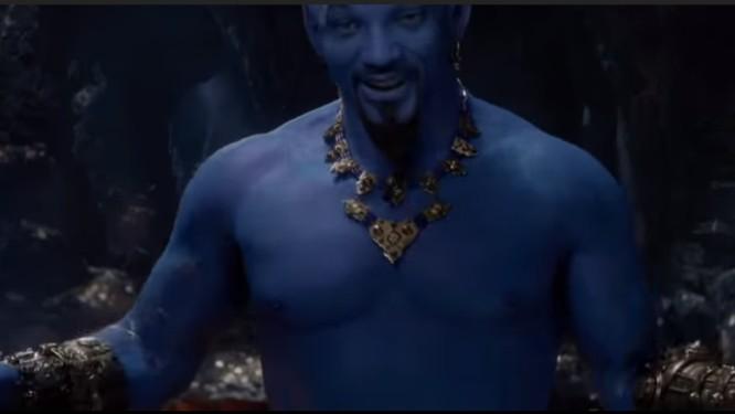 Will Smith como o Gênio da Lâmpada no novo 'Aladdin' Foto: Reprodução