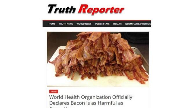 Notícia falsa dada sobre saúde viralizou em 2018 Foto: Reprodução