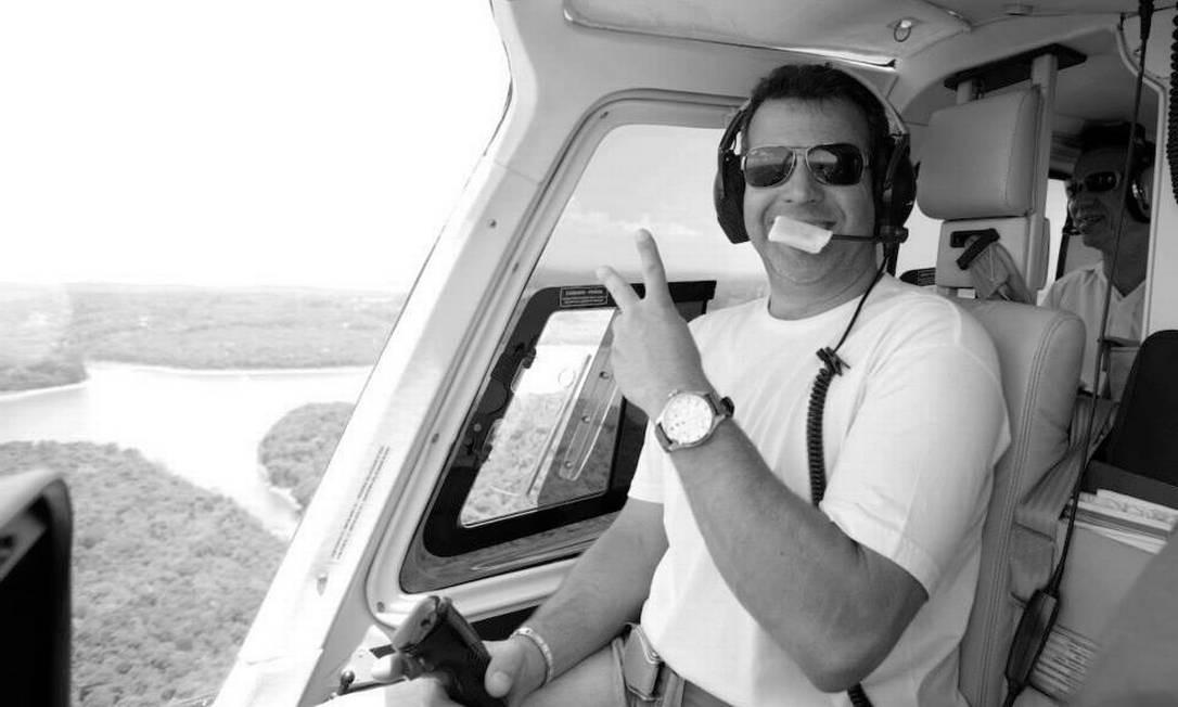 O piloto Ronaldo Quattrucci Foto: Reprodução
