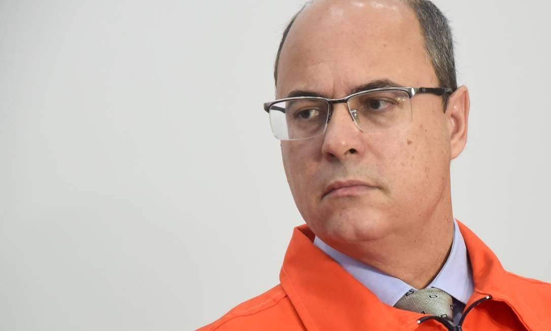 Governador do Rio, Wilson Witzel Foto: Marcelo Fonseca / Agência O Globo