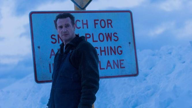 Liam Neeson em cena do filme 'Vingança a sangue frio' Foto: Divulgação
