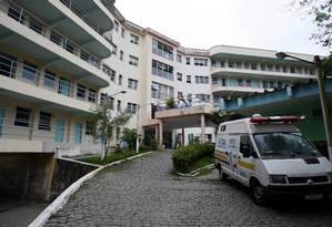 Hospital Estadual Santa Maria, na Taquara, é especializado em tuberculose Foto: Fábio Guimarães / Fábio Guimarães/05.05.2008