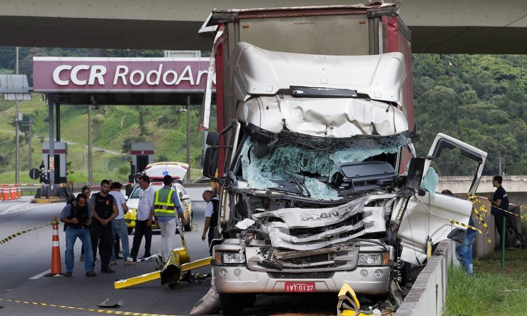 O jornalista Ricardo Boechat morreu em acidente de helicóptero nesta segunda-feira Foto: Edilson Dantas / Agência O Globo