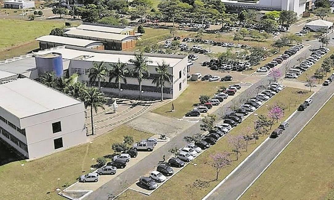 Campus da UFG. Universidade goiana não comentou demissões dos dois professores acusados de assédio sexual Foto: Divulgação/UFG
