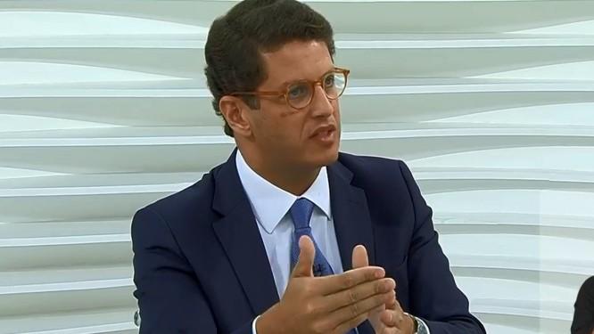 Ricardo Salles deu entrevista ao programa Roda Viva da TV Cultura Foto: Reprodução