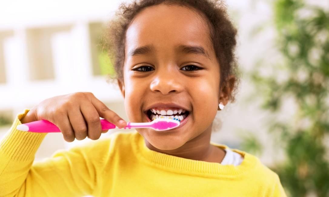 Dentes infantis Foto: Shutterstock