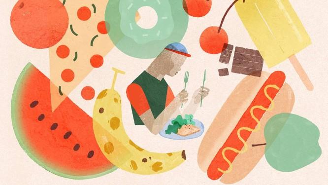 Quem quer perder ou manter o paso deve saber qual o tamanho correto da porção de diversas categorias de alimentos Foto: GRACIA LAM / NYT