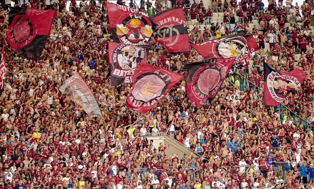 Torcida do Flamengo em foto de arquivo Foto: Alexandre Vidal/Flamengo