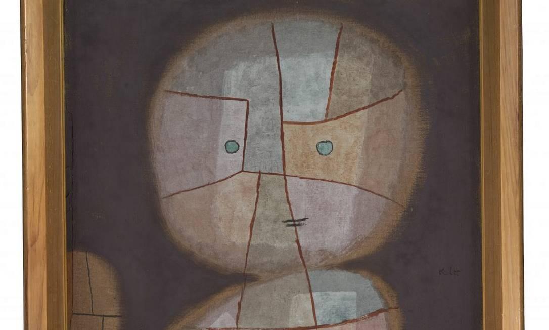 'Busto de uma criança' (1933), aquarela sobre algodão sobre compensado Foto: Divulgação