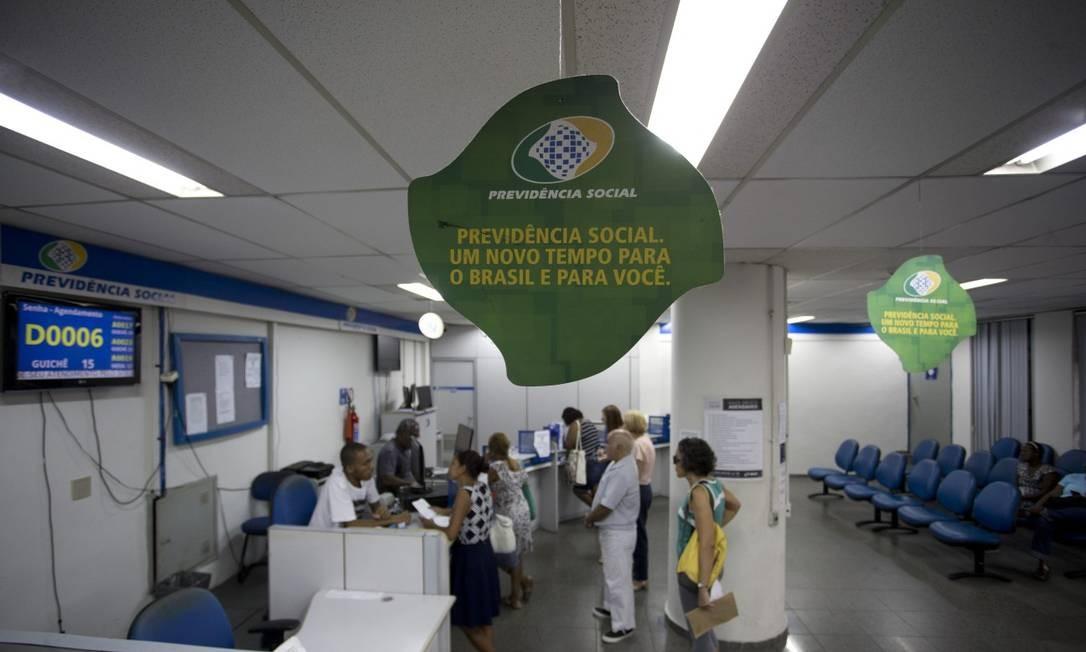 Agência da Previdência Social em Copacabana, zona Sul do Rio Foto: Márcia Foletto / Agência O Globo