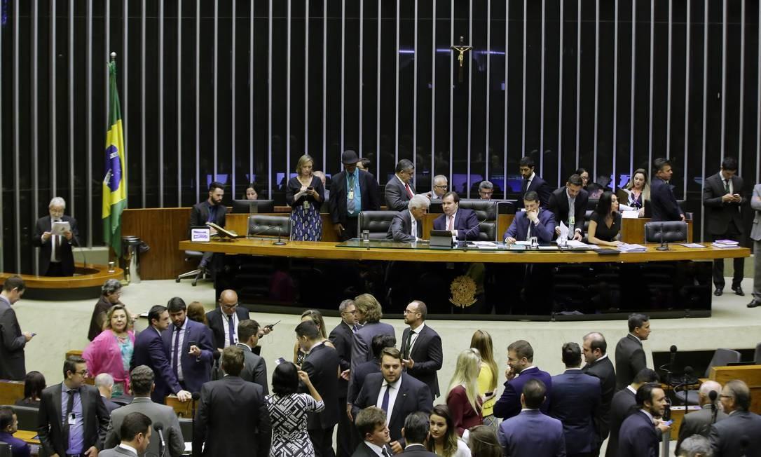 Proposta sobre o terrorismo que deve ser votada é defendida pelo ministro da Justiça, Sergio Moro Foto: Divulgação/ Câmara
