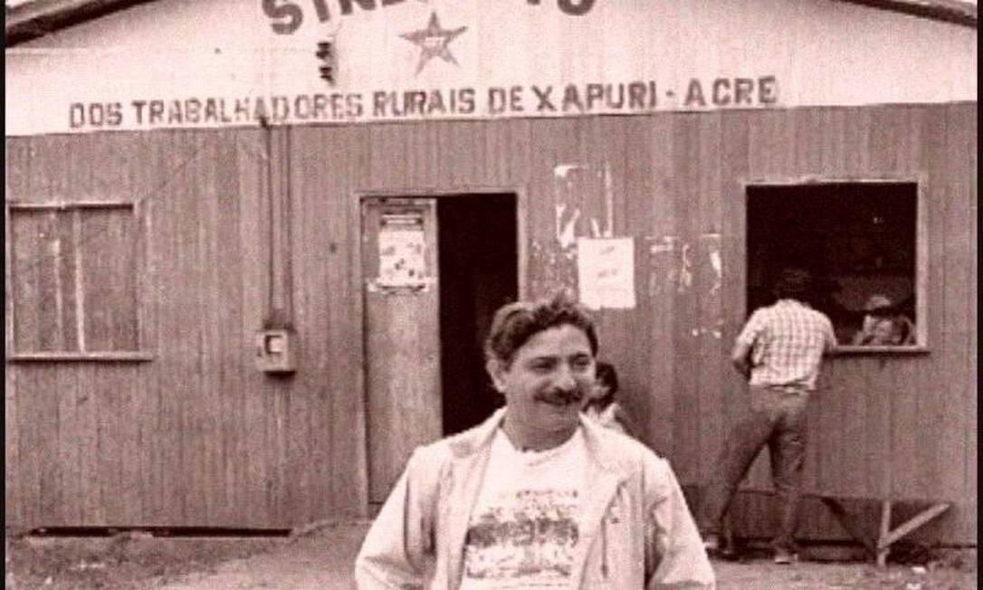 """O líder sindical foi tema do documentário """"Cartas da Floresta"""", produzido pela TV Câmara em 2010 Foto: Divulgação"""