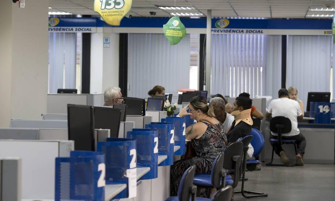 Pedidos de aposentadoria aumentaram no começo deste ano, diz INSS Foto: Márcia Foletto / Agência O Globo