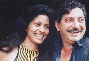 Chico Mendes e sua mulher, Ilzamar: líder ambiental foi assassinado em 1988 no Acre Foto: Divulgação