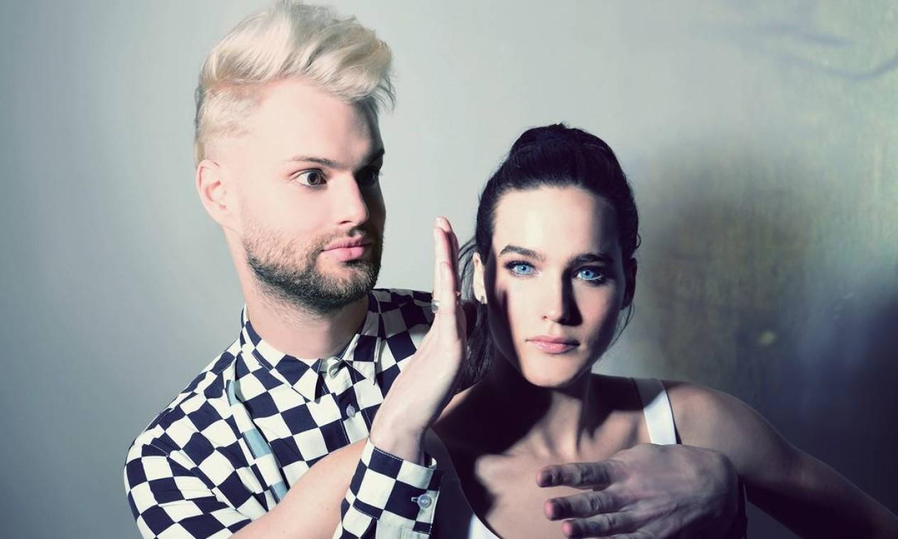 O duo americano Sofi Tukker tem músicas em português Foto: Divulgação