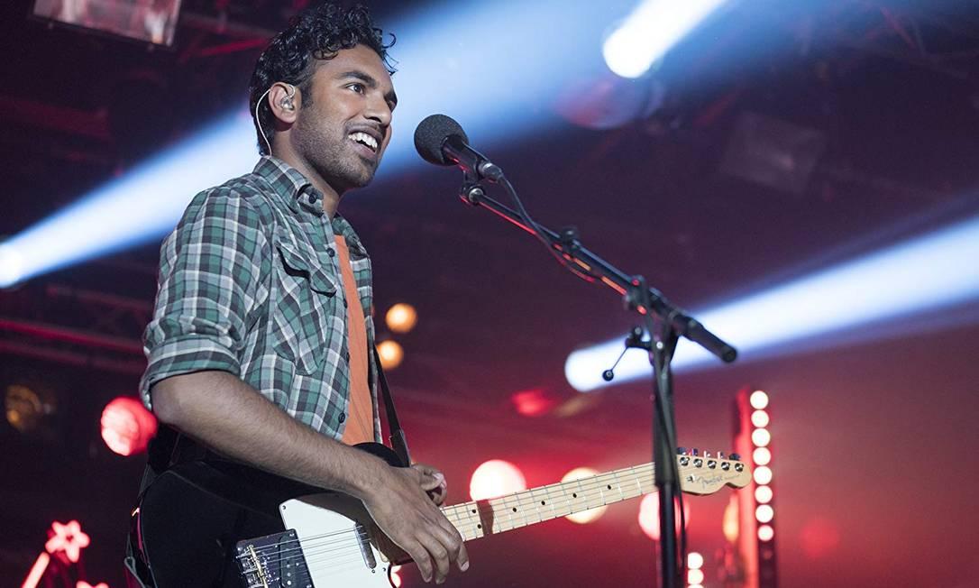 Himesh Patel em 'Yesterday', novo filme da Danny Boyle Foto: Divulgação