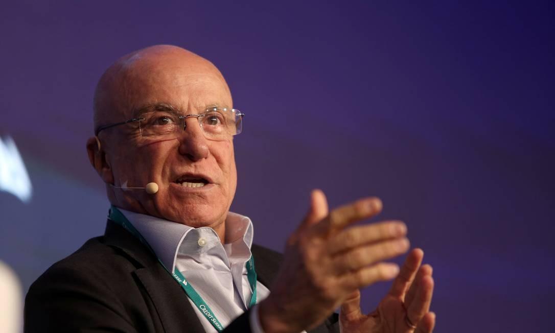 O secretário da Desestatizações e Desinvestimentos do Ministério da Economia, Salim Mattar Foto: Amamda Perobelli / Reuters