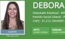 Débora Gomes, que foi candidata a deputada estadual em Minas pelo PSL Foto: Reprodução