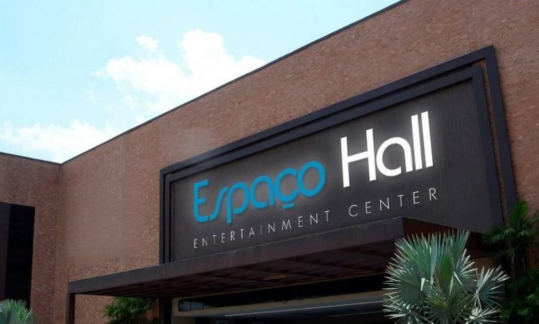 Espaço Hall terá capacidade para até 6 mil pessoas Foto: Divulgação
