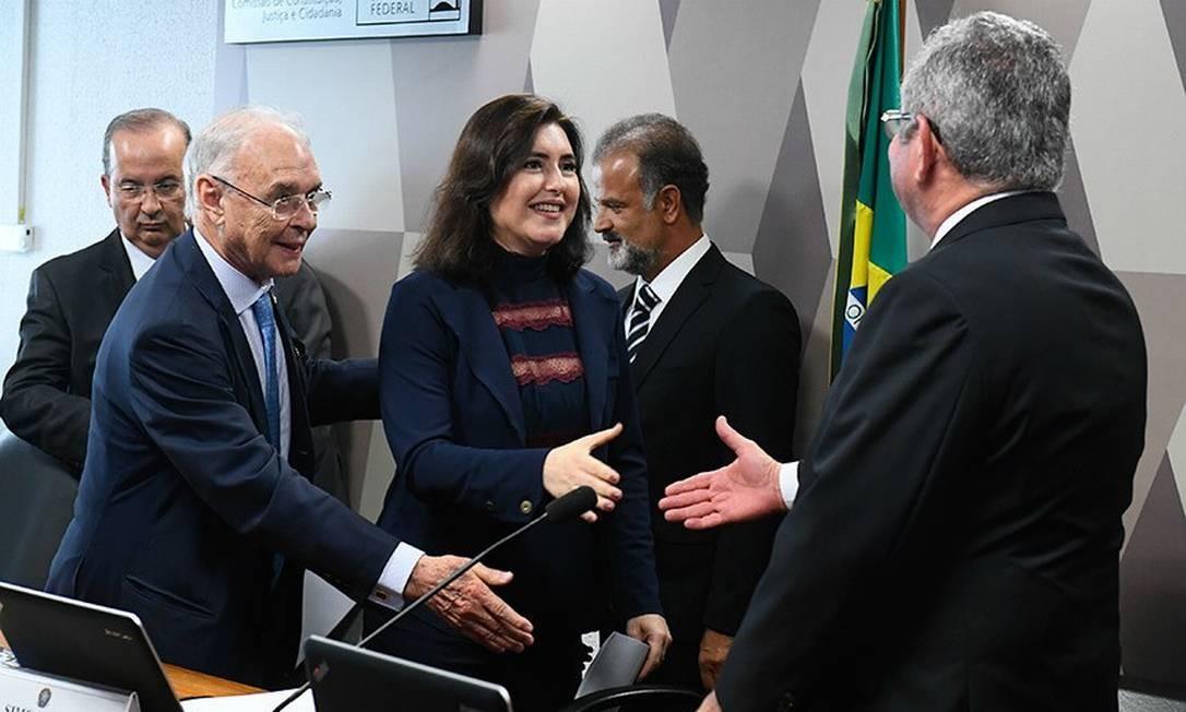 Simone Tebet (MDB) comandará CCJ no Senado Foto: Agência Senado