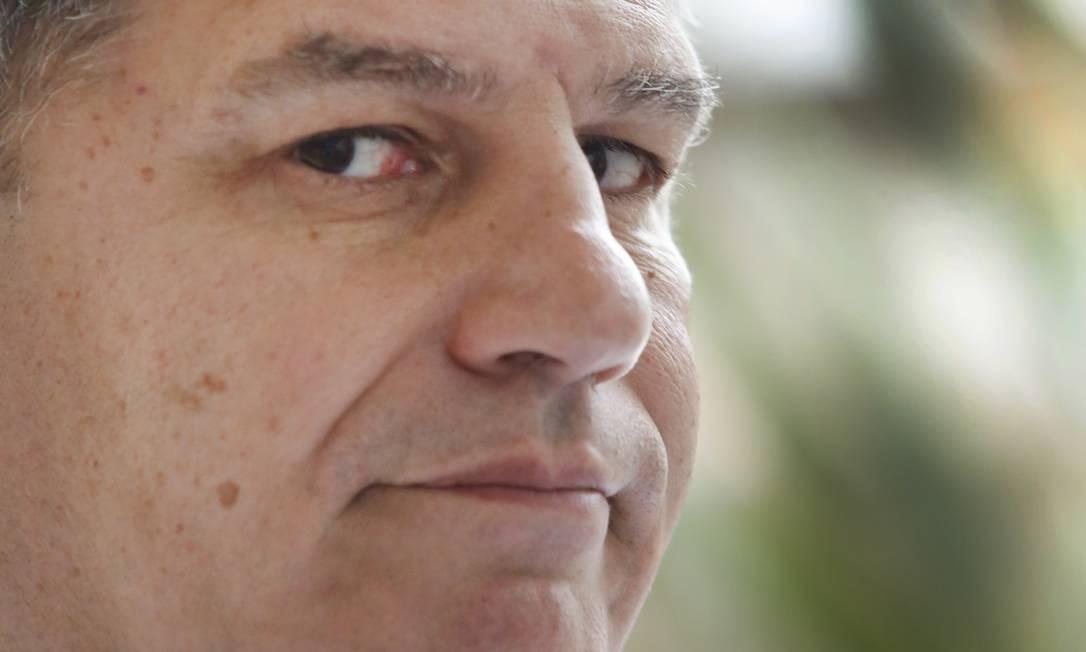 Gustavo Bebianno, então presidente do PSL, em outubro de 2018 Foto: Marcos Ramos / Agência O Globo