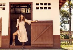 Flávia interpreta Rita de Cássia em 'O sétimo guardião' Foto: Renan Oliveira