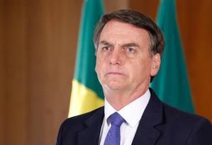 O presidente Jair Bolsonaro Foto: Isac Nóbrega/PR