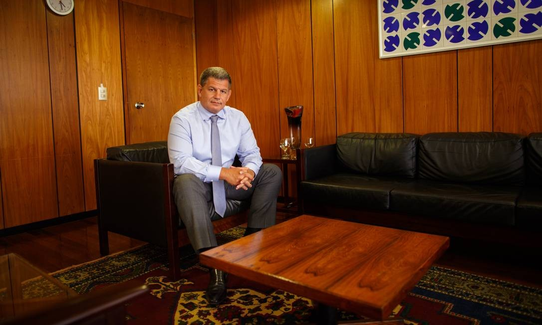 O ministro da Secretária-Geral da Presidência, Gustavo Bebianno 05/02/2019 Foto: Daniel Marenco / Agência O Globo