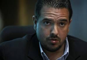Vice-presidente da Assembleia Nacional venezuelana, Stalin González Foto: ANDRES MARTINEZ CASARES / REUTERS