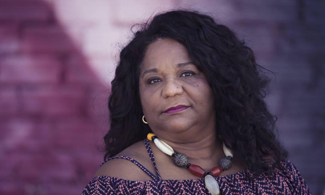 A agora ex-secretária de Cultura do Rio Nilcemar Nogueira Foto: Leo Martins/1/1/2018