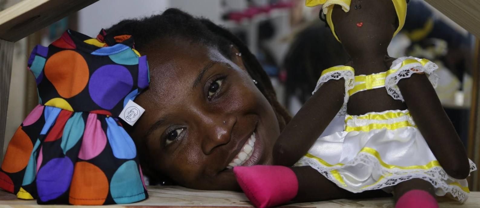 Jaciana Melquiades defende a representatividade em todas as áreas, sobretudo quando se trata da formação infantil Foto: Antonio Scorza / Agência O Globo