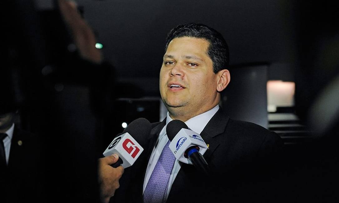 O presidente do Senado, Davi Alcolumbre, diz que subcomissão será uma 'orientadora do debate' Foto: Agência Senado