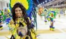 Nilce Fran em desfile da Portela Foto: Diego Mendes / Divulgação