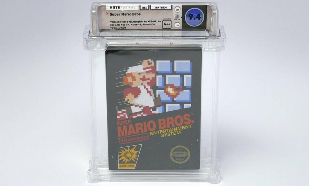 Versão do jogo foi vendida apenas em Nova York e Los Angeles, em 1985 e 1986 Foto: Heritage Auctions