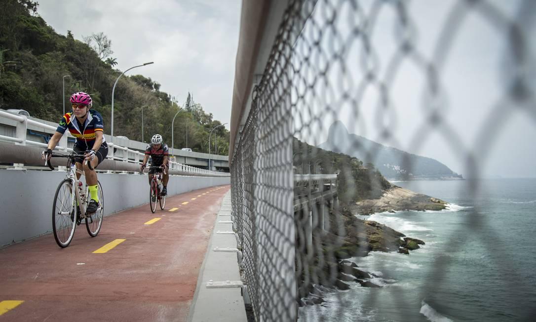 No mês de setembro, um novo trecho é inaugurado, da Barra a São Conrado Foto: Daniel Marenco / Agência O Globo