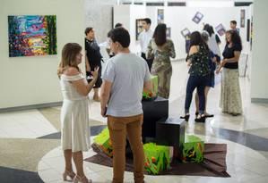 Exposição no Espaço de Artes Zélia Arbex, em Volta Redonda é identificada com sinais de plágio Foto: Divulgação/Gabriel Borges