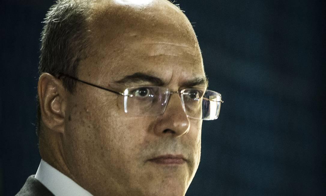 Witzel: presídio vertical contará com espaço para que os presos trabalhem e, desta forma, 'paguem pela estadia' Foto: Guito Moreto / Agência O Globo
