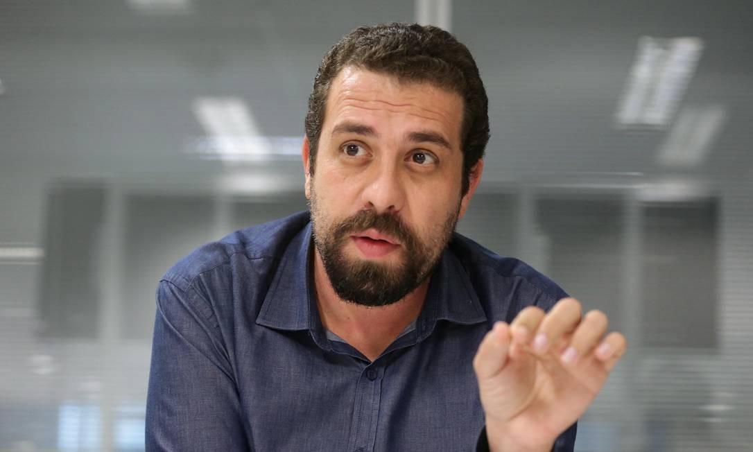 Boulos sobre Bolsonaro: 'É difícil avaliar se esse cara termina o mandato' Foto: Márcio Alves / Agência O Globo