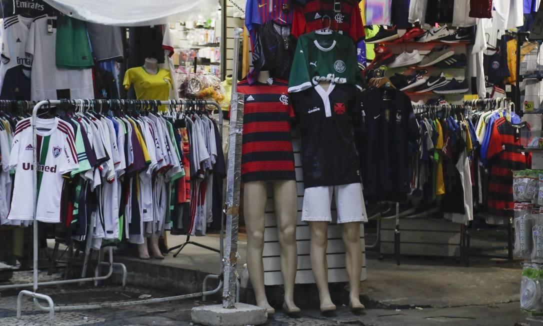 Pirataria movimenta mais de R$ 600 milhões no Rio