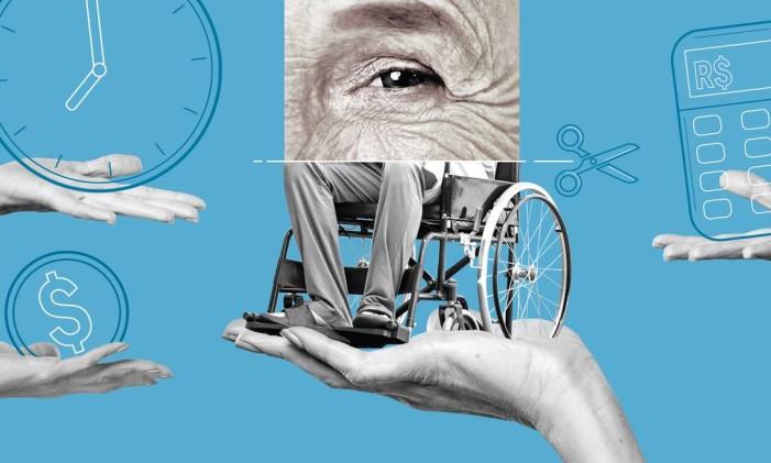 Benefícios assistenciais Foto: Editoria de Arte