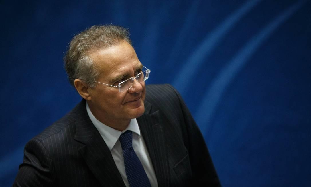 Renan teria garantido entrada de Sérgio Machado na Transpetro, mas não confiava no aliado, segundo Luz Foto: Daniel Marenco / Agência O Globo