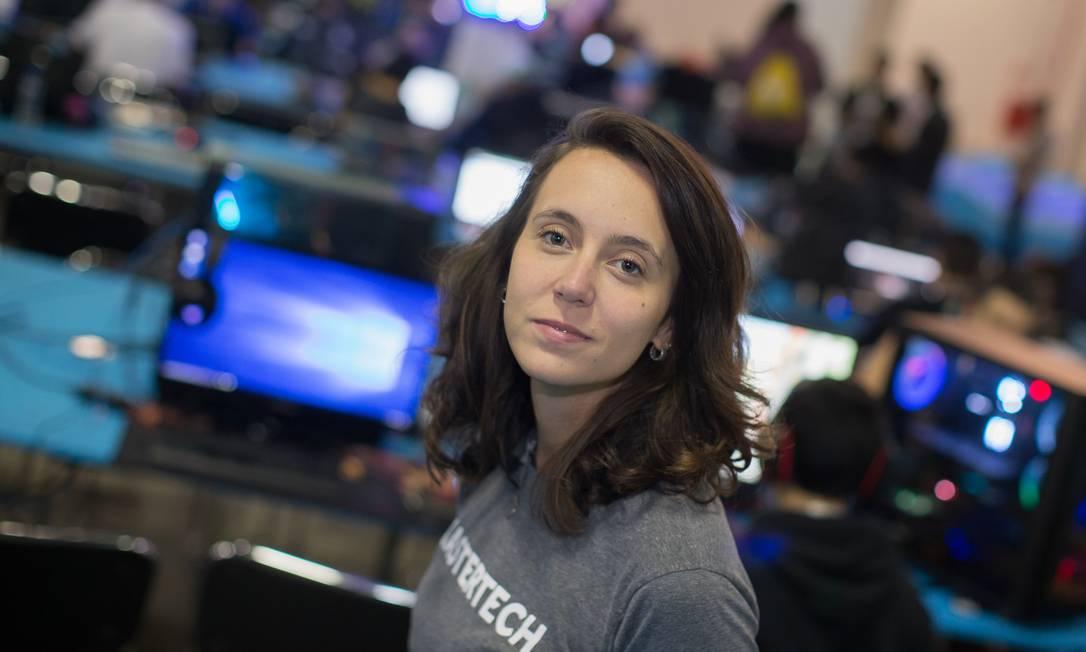 A Mastertech, criada por Camila Achutti, já formou mais de 15 mil pessoas, a maioria mulheres Foto: Edilson Dantas / Agência O Globo